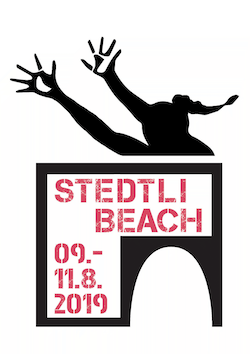Stedtli Beach Volleyball Turnier Logo